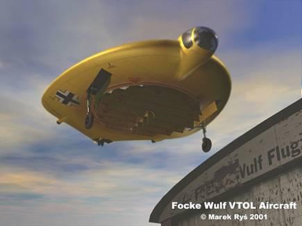 Die Focke Wulf VTOL